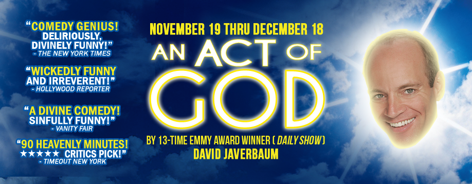 AN ACT OF GOD @ GableStage | Coral Gables | Florida | United States