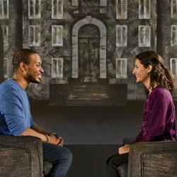 Joshua Jean-Baptiste and Maria Corina Ramirez in ACTUALLY