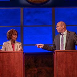 Karen Stephens and Tom Wahl in KINGS