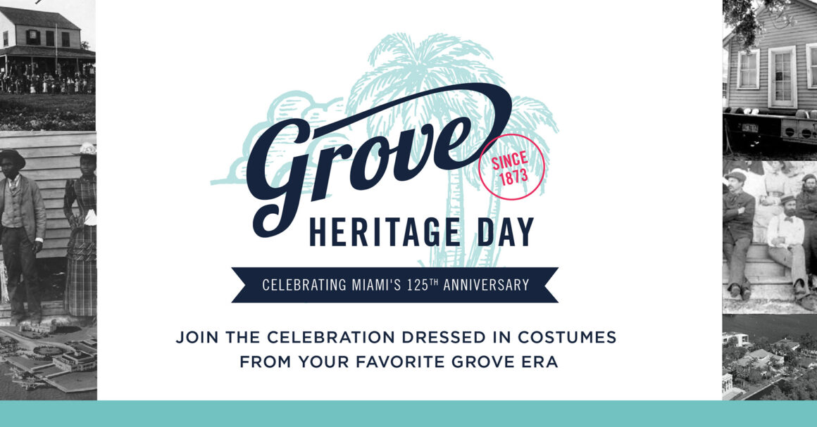 Paint a Coconut and Celebrate With Us at the Grove Heritage Day
