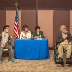Michael Focas, Michael Kushner, Barbara Sloan, Carol Casalle, George Schiavone and Edson Jean