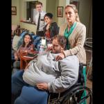 Gregg Weiner, Amy Brennan (foreground), Deborah L. Sherman (couch), Karl Skyler Urban, Arielle Hoffman (background)